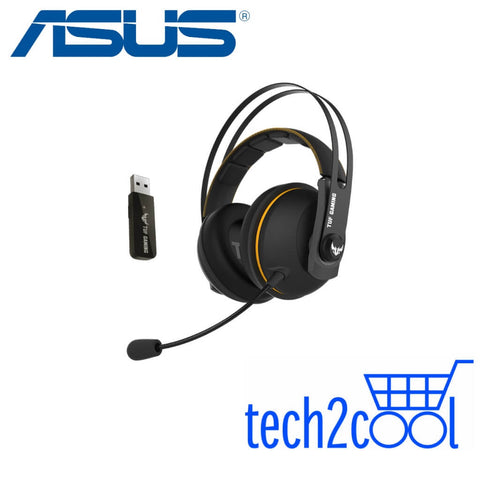 Asus TUF Gaming H7 Yellow Wireless Gaming Headset for PC, Mac and PlayStation 4