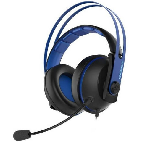 Asus Cerberus V2 Blue Dual Microphone Gaming Headset