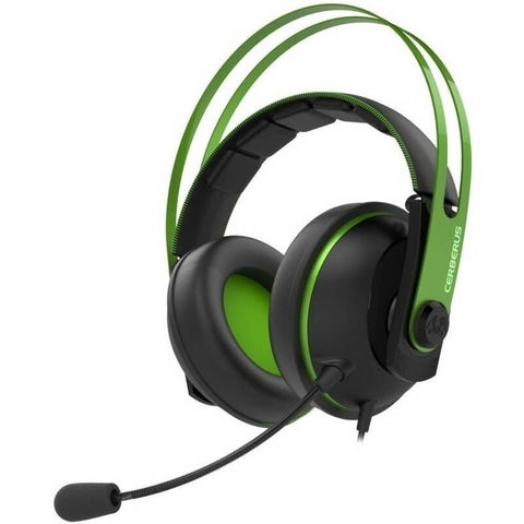 Asus Cerberus V2 Green Dual Microphone Gaming Headset