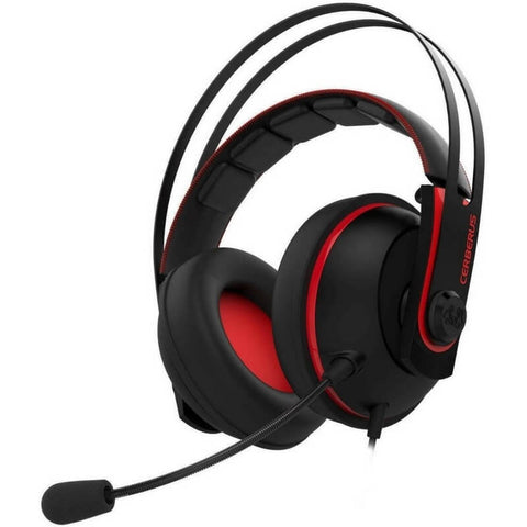 Asus Cerberus V2 Red Dual Microphone Gaming Headset