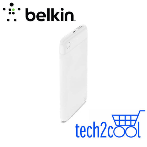 Belkin Boost Charge 5000mAh White Power Bank with Lightning Connector