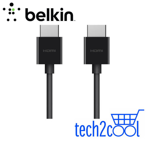 Belkin AV10175bt2M-BLK Ultra HD High Speed HDMI 2 Meter Black Cable