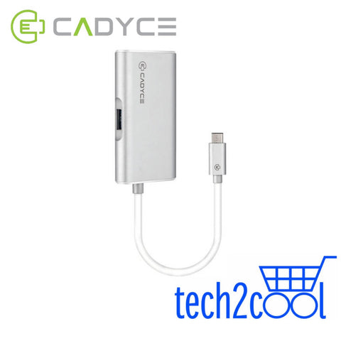 Cadyce CA-CVM USB-C to VGA Multi-Port Adapter