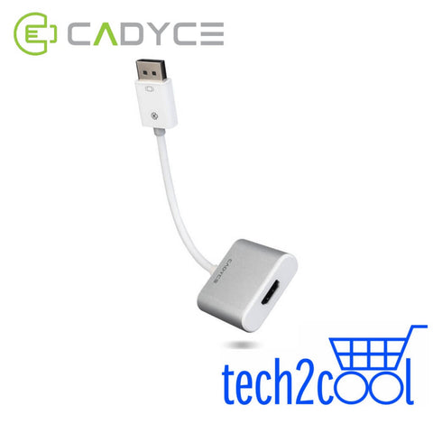 Cadyce CA-DPHDMI DisplayPort to HDMI Adapter with Audio