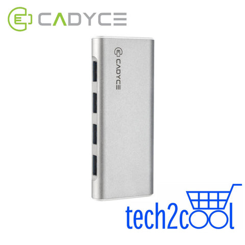 Cadyce CA-U34H USB 3.0 4 Port Hub with 2.4 A Charging Port