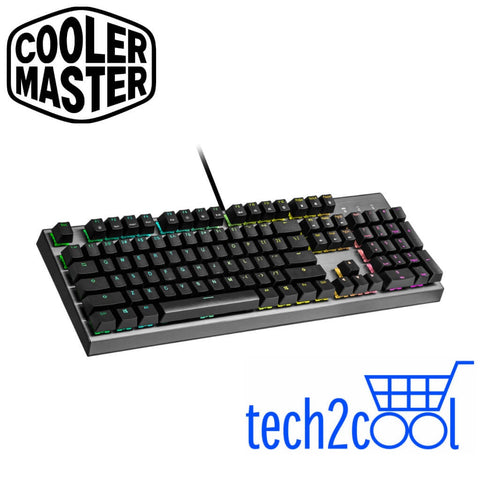 Cooler Master CK350 Red Switch RGB Wired Mechanical Gaming Keyboard