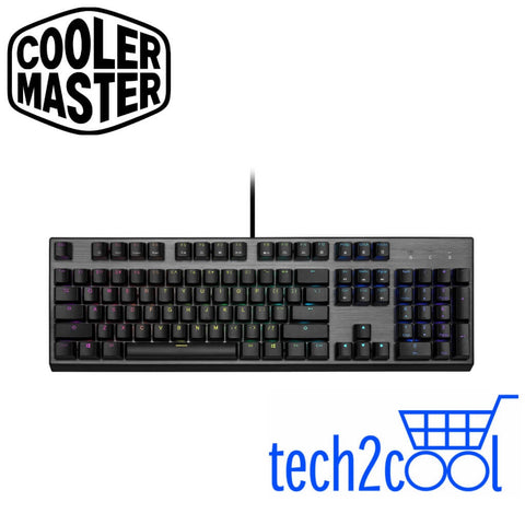Cooler Master CK350 Blue Switch RGB Wired Mechanical Gaming Keyboard