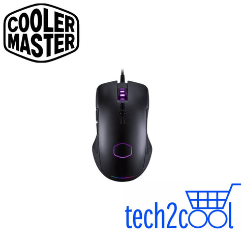 Cooler Master CM310 Black Optical RGB Ambidextrous Wired Gaming Mouse