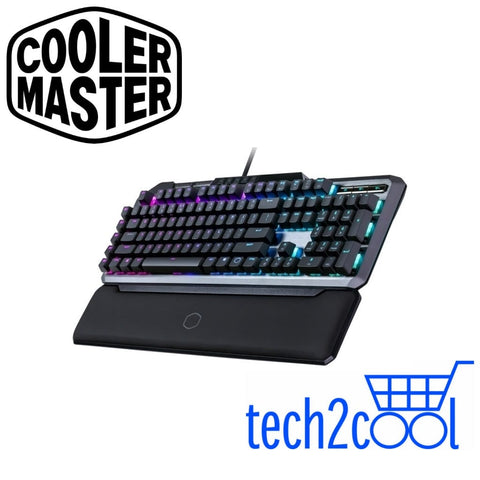 Cooler Master MK850 RGB Cherry Red Mechanical Gaming Keyboard with Aimpad Technology