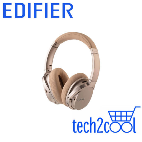 Edifier W860NB Gold Active Noise Cancelling Bluetooth Headphones