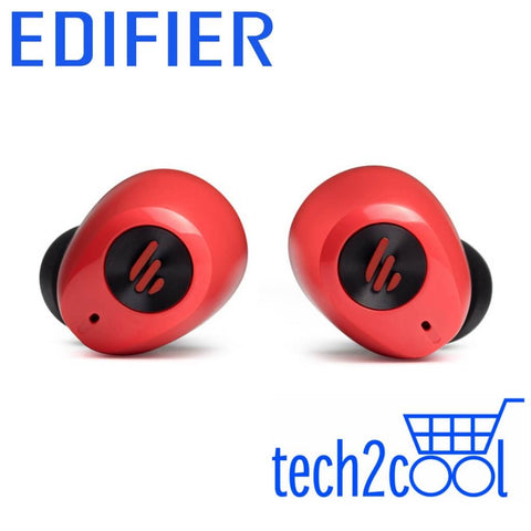 Edifier TWS2 Red Wireless Bluetooth Earbuds