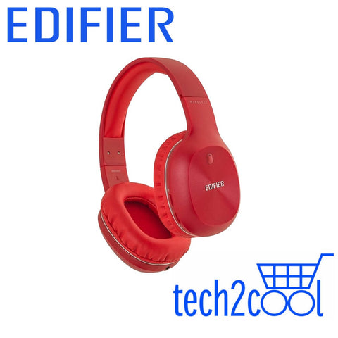 Edifier W800BT Red Wired and Wireless Over-Ear Headphone