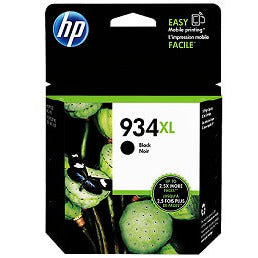 HP 934XL Black High-Capacity 1000-Page Original Ink Cartridge