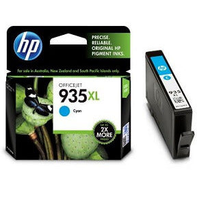 HP 935XL Cyan High-Capacity 825-Page Original Ink Cartridge