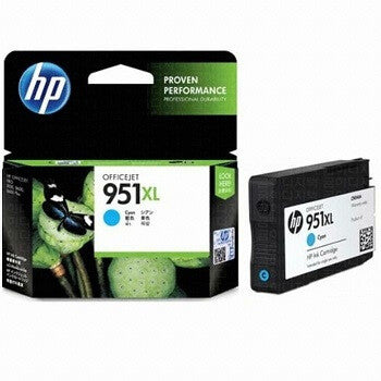 HP 951XL Cyan High-Capacity 1500-Page Original Ink Cartridge