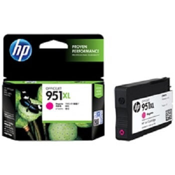 HP 951XL Magenta High-Capacity 1500-Page Original Ink Cartridge