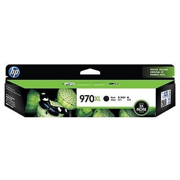 HP 970XL Black High Capacity 9200-Page Original Ink Cartridge