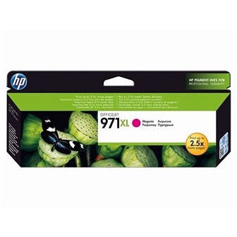 HP 971XL Magenta High Capacity 6600-Page Original Ink Cartridge