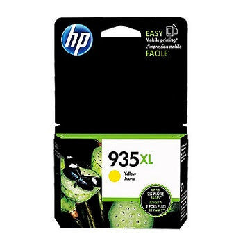 HP 935XL Yellow High-Capacity 825-Page Original Ink Cartridge