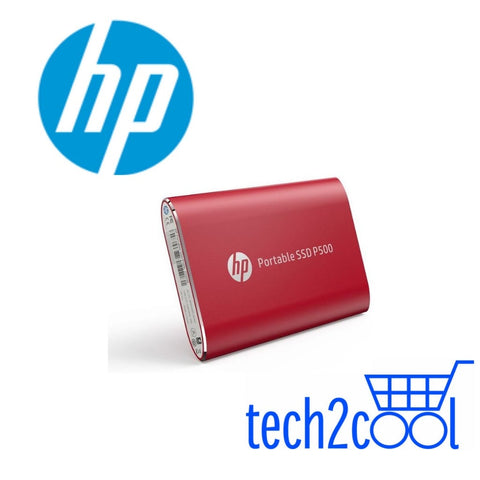 HP P500 250GB Red Portable SSD