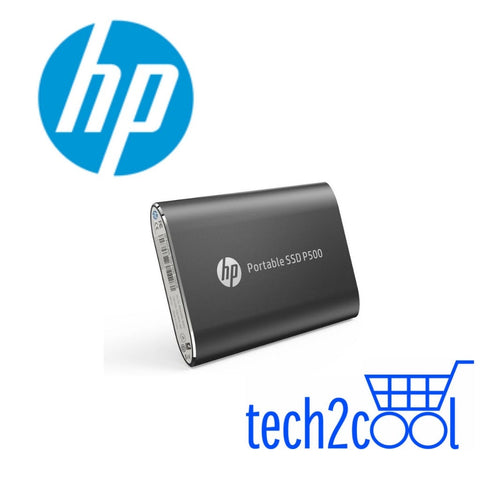 HP P500 500GB Black Portable SSD