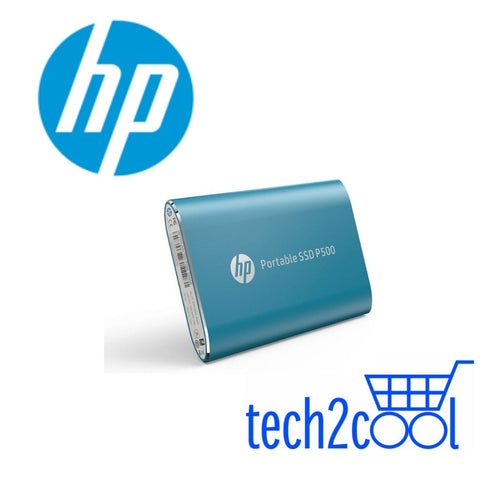 HP P500 500GB Blue Portable SSD