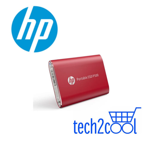 HP P500 500GB Red Portable SSD