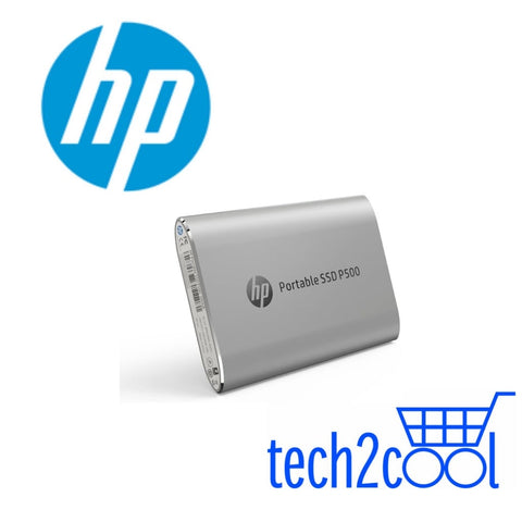 HP P500 500GB Silver Portable SSD