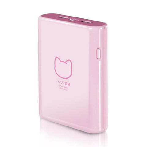 Hotway Probox Nekomonogatari 10400mAh Pearl Pink Power Bank