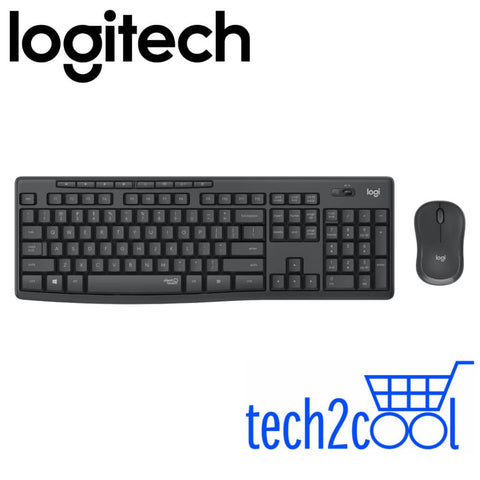 Logitech MK295 Silent Wireless Keyboard and Mouse Combo