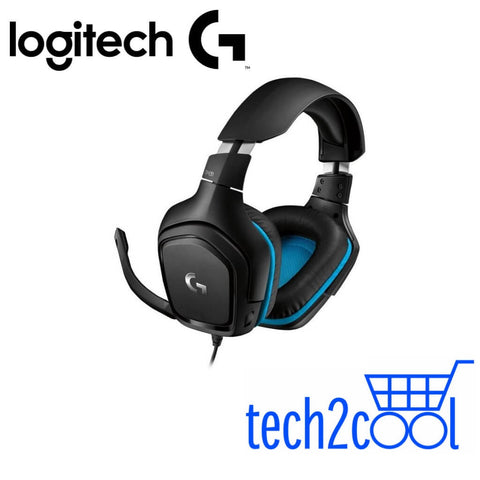 Logitech G431 7.1 Surround Sound Wired Gaming Headset