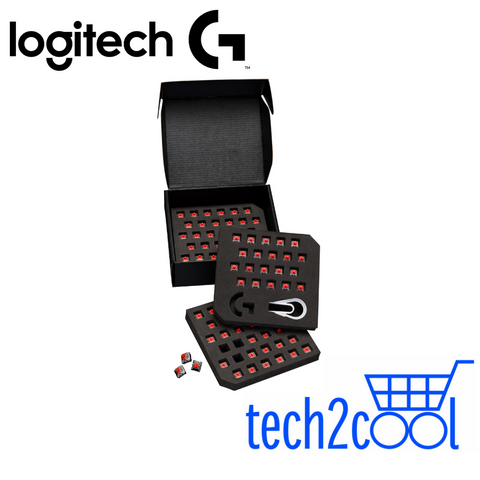 Logitech G GX Red Linear Switch Kit For Pro X Keyboard Only