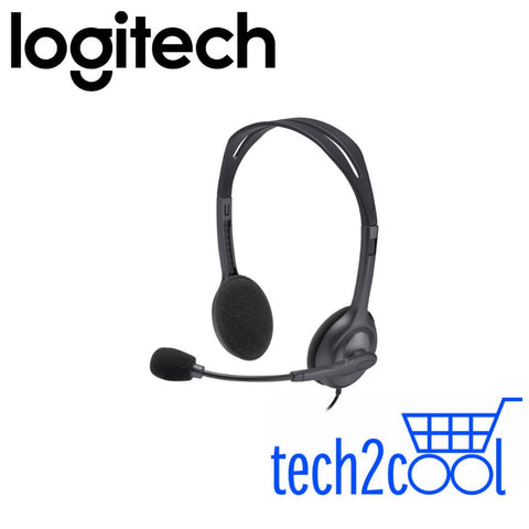 Logitech H111 Basic Stereo Headset with Single 3.5 mm Jack Only