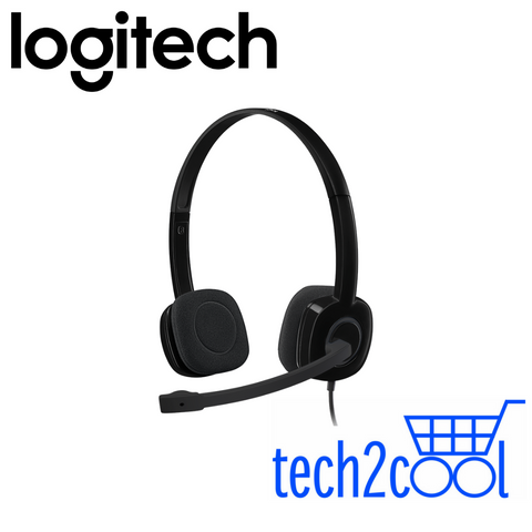 Logitech H151 Stereo Headset with Single 3.5 mm Jack Only