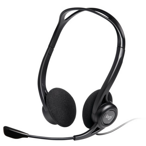 logitech h370 usb computer headset w noise canceling mic tech2cool. Black Bedroom Furniture Sets. Home Design Ideas