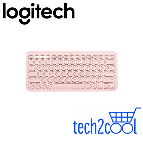Logitech K380 Rose Multi-Device Bluetooth Only Keyboard