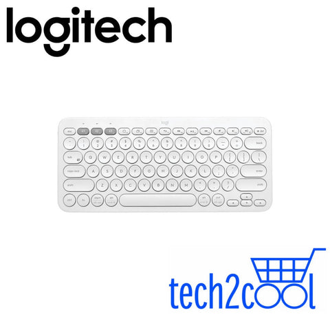 Logitech K380 White Multi-Device Bluetooth Only Keyboard