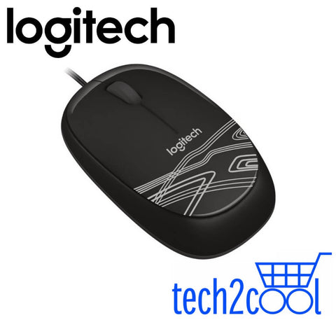 Logitech M105 Black Wired Mouse