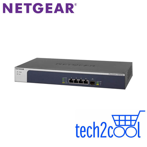 Netgear XS505M 5-Port Multi-Gigabit Ethernet Unmanaged Switch