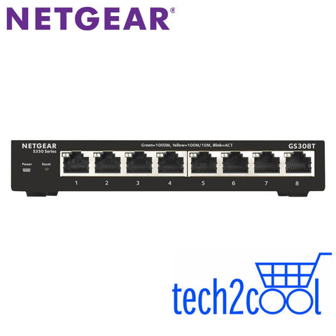 Netgear GS308T 8-Port Gigabit Ethernet Smart Managed Pro Switch