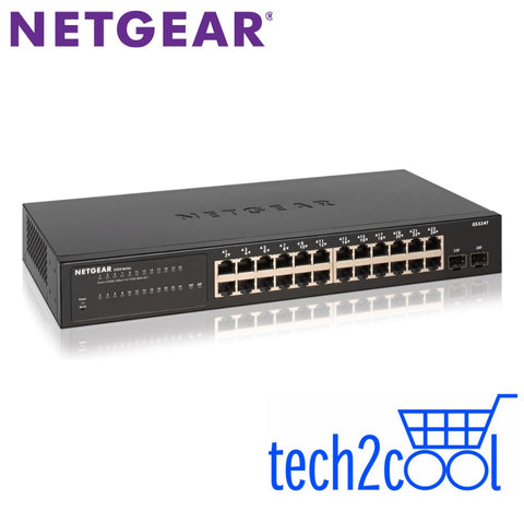 Netgear GS324T 24-Port Gigabit Ethernet Smart Managed Pro Switch with 2 SFP Ports