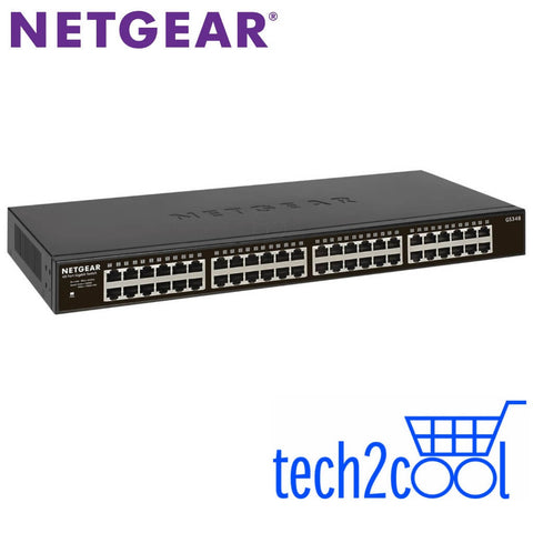 Netgear GS348 48-Port Gigabit Ethernet Unmanaged Switch