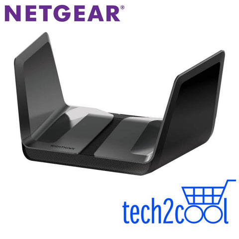 Netgear Nighthawk RAX80 AX6000 Dual Band WiFi 6 Router