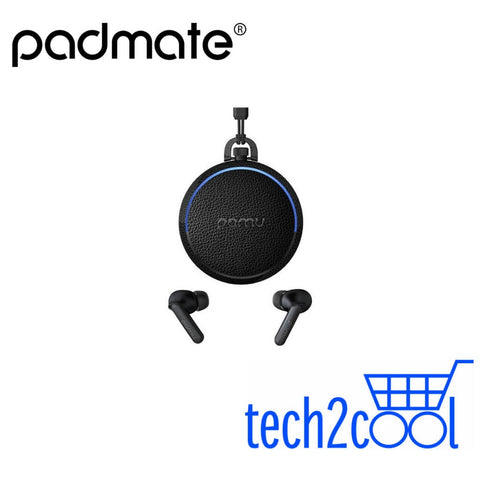 Padmate PaMu Quiet Black Wireless Bluetooth Earphone