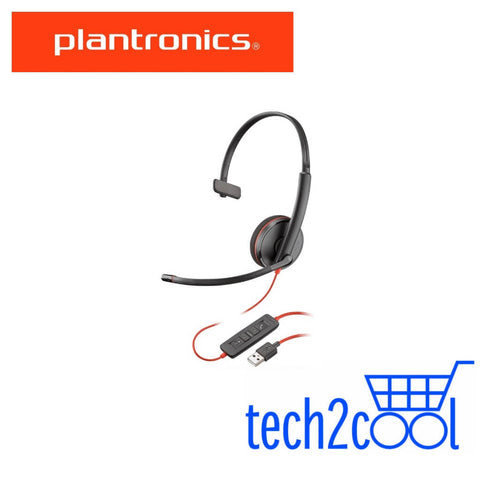 Plantronics Blackwire 3210 USB-A Monaural Wired UC Headset