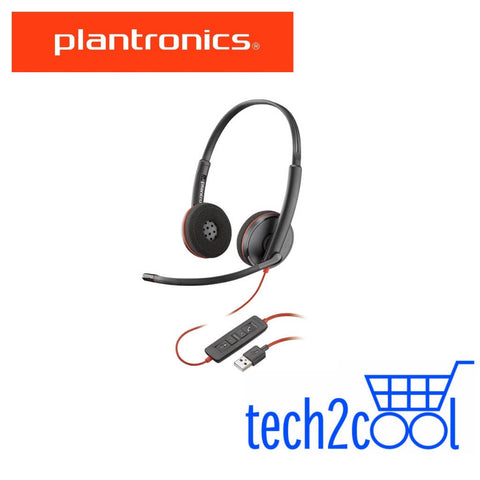 Plantronics Blackwire 3220 UC USB-A Stereo Wired Headset