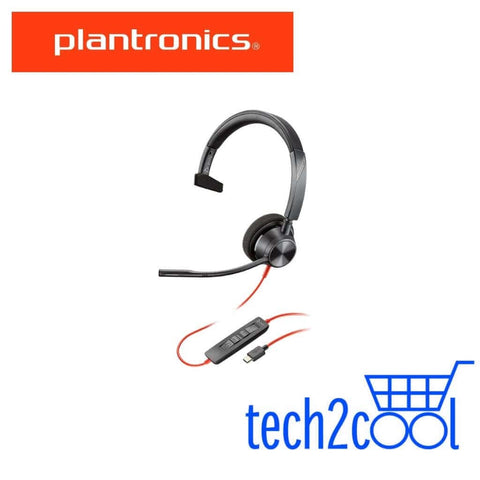 Plantronics Blackwire 3310 USB-C Monaural Wired UC Headset