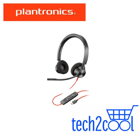 Plantronics Blackwire 3320 USB-C Wired Stereo UC Headset