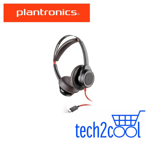 Plantronics Blackwire 7225 USB-C Black Wired Stereo Headset