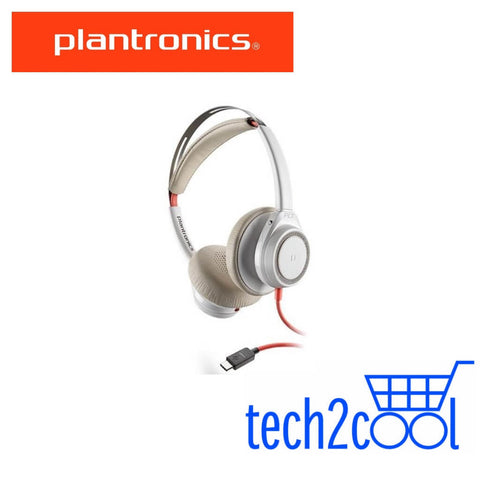 Plantronics Blackwire 7225 USB-C White Wired Stereo Headset